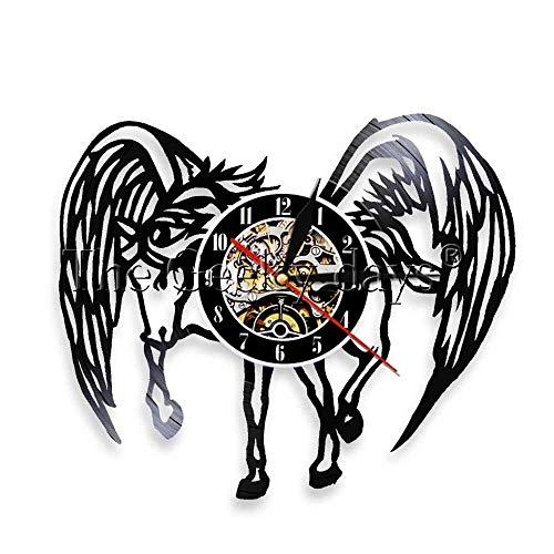 3d schreibtischlampe pferd mit engelsflügeln schallplatte fantasie wanduhr wandbild handgefertigt wanduhr holztischlampe teetasse tischlampe tragbare tischlampe neon tier tischlampe