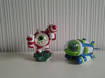 Skylanders Superchargers Diver Bomber & Missile Tow Dive Clops (PS4/Xbox One/Xbox 360/Nintendo Wii/Nintendo Wii U/Nintendo 3DS)