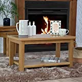 The Furniture Outlet Rutland Oak Small Coffee Table