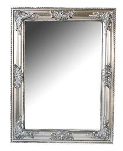 B.U.S. Wohnstyle GmbH Spiegel Wandspiegel antik Silber Barock Bonny 65 x 50 cm
