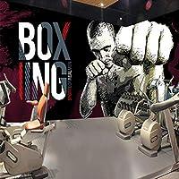 3D写真壁紙ボクシングジム背景ポスター壁画壁紙壁画リビングルーム壁画壁紙ロール-300x210cm