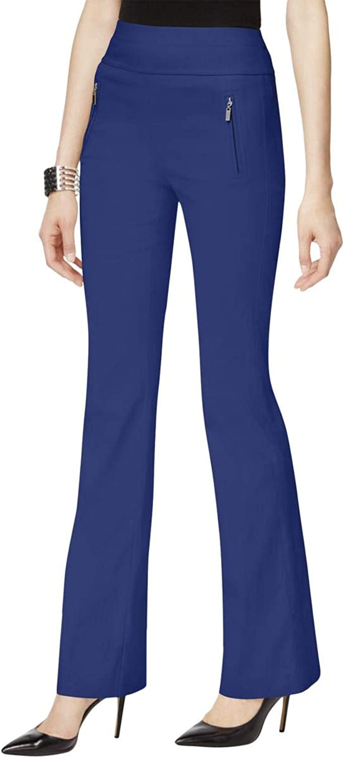 INC Womens Bootcut Casual Wide Leg Pants Goddessblueee 4X33