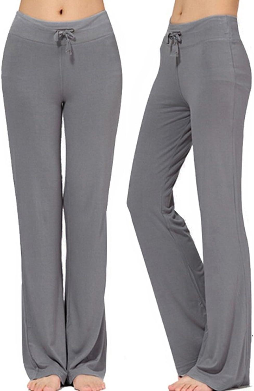 NB Women's Long Modal Comfy Drawstring Trousers (XXL Dark Grey)