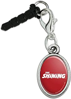 GRAPHICS & MORE The Shining Logo Mobile Cell Phone Headphone Jack Anti-Dust Oval Charm fits iPhone iPod Galaxy