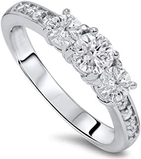 Best 3 stone diamond ring 1 carat Reviews