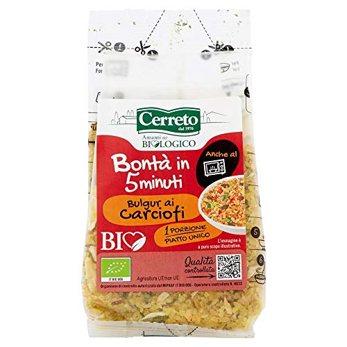 Cerreto Bio Bulgur ai Carciofi Biologico - 100 gr