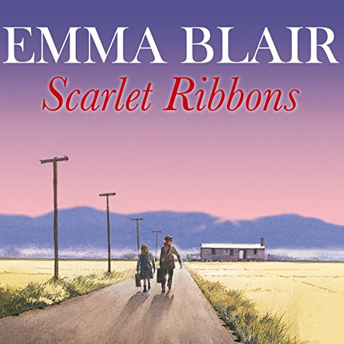 Scarlet Ribbons audiobook cover art