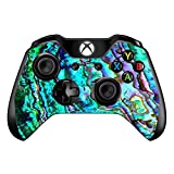 xbox controller stickers - Skin Vinyl Decal for Xbox One/One S Controller/with Grip-Guard Technology Skins Stickers Cover/Abalone Ripples Green Blue Purple Shells