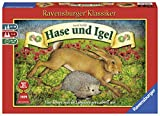 Ravensburger 26028 - Hase und Igel - Kinderspiel ab 10...