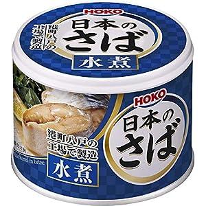 宝幸 日本のさば(水煮)190g×12缶