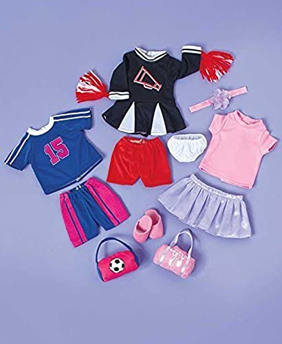 Set of 3 18 Doll Sporty Outfits by GetSet2Save
