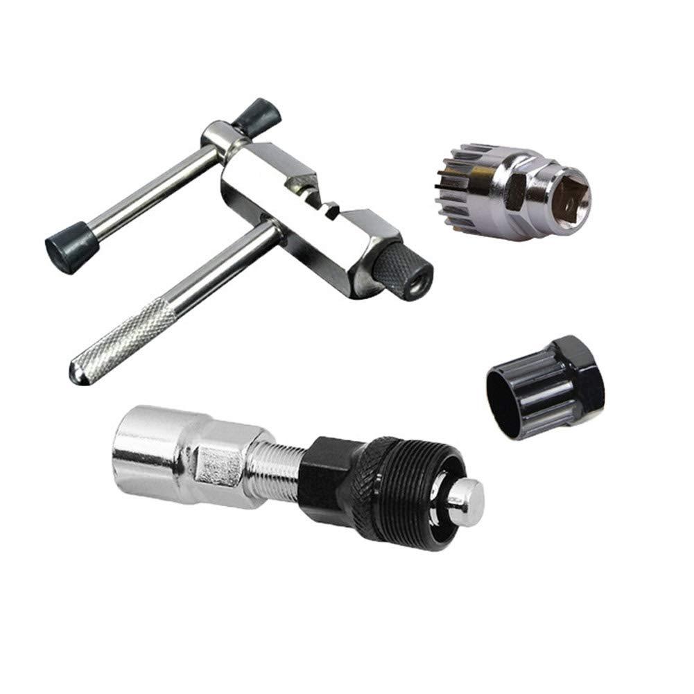 Bicycle Repair Tool 4PCS MTB Bike Crank Chain Axis Extractor Removal Repair UK