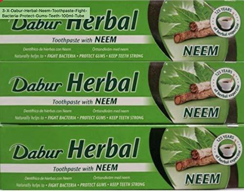 Dabur Zahnpasta Neem - 100g - 3-er Pack