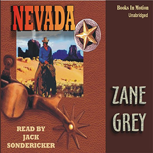 Nevada audiobook cover art