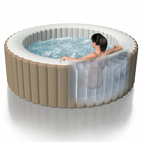 INTEX PureSpa Bulles beige 4 places 196x71cm
