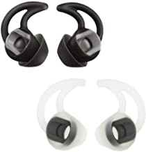Bose Replacement Noise Isolation Silicone Earbuds/Earplug Tips for Bose in-Ear Wired Earphones Fit Bose QC20 QuietControl 20 QC30 SIE2 IE3 Soundsport Wireless Earphones, 2 Pairs (Small-Sized)