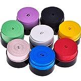 Sunnysam 8 Piezas Overgrip de Raqueta de Tennis Badminton para Grip Antideslizante y Absorbente, Colores Variados