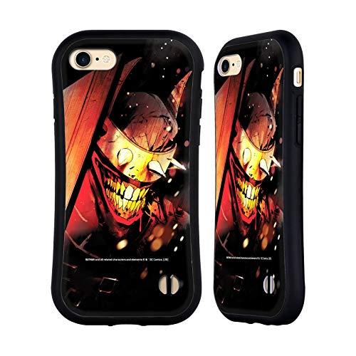 Head Case Designs Oficial Batman DC Comics El Batman Que se ríe Los Caballeros Oscuros Carcasa híbrida Compatible con Apple iPhone 7 / iPhone 8 / iPhone SE 2020