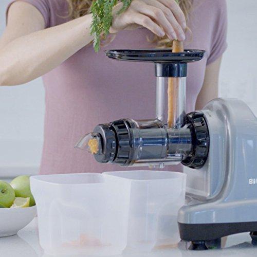 Slow Juicer – Kaltpress Entsafter für Gemüse und Obst Bild 2*