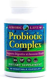 Aerobic Life Probiotic Complex Supplement Capsules, 60 Count