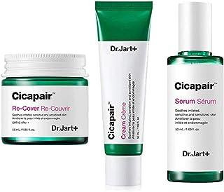 Dr.Jart+ Cicapair Cream + ReCover + Serum ドクタ?ジャルトシカペアクリ?ム50ml + リカバ? 55ml + セラム 50ml(2代目) セット [?行輸入品] [並行輸入品]