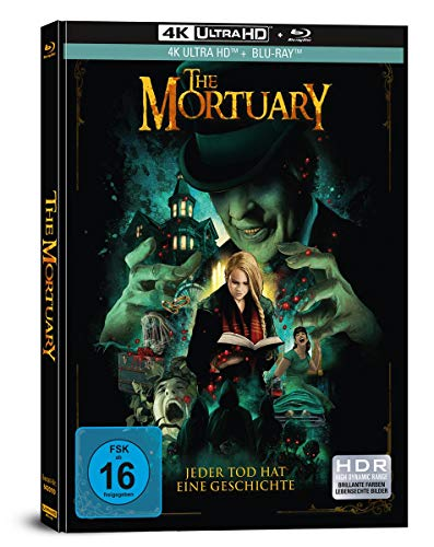 The Mortuary - Jeder Tod hat eine Geschichte - 2-Disc Limited Collector's Edition im Mediabook (4K Ultra HD/UHD + Blu-Ray)