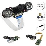 for raspbery pi 4 カメラモジュールIR Camera高速冷却赤外線LED ラズベリーパイ Raspberry Pi 3 b+ / Pi Zero W使用OV5647 5MP