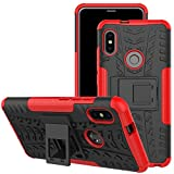 Jhxtech Xiaomi Redmi Note 5 Pro Case, [Kickstand] [Heavy