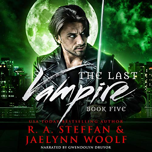 The Last Vampire: Book Five audiobook cover art