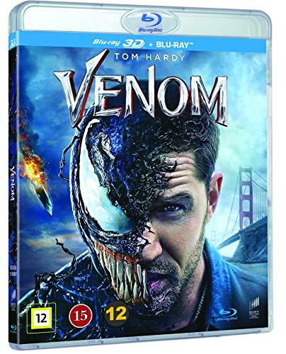 Venom 3D Blu Ray + Blu Ray [Nordic Import]