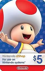 powerful $ 5 Nintendo eShop Gift Card [Digital Code]