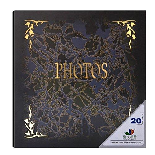 Prachtige hoogglans oppervlak van hout geschenkdoos lijm-type album