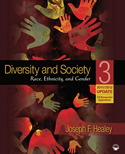 Diversity and Society: Race, Ethnicity, and Gender,...