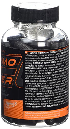 THERMO FAT BURNER MAX – 120 tabs/1000mg NEW (MAX series) - 2