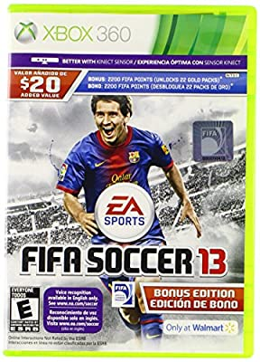 FIFA SOCCER 13 (Game & Manual English / Spanish, Game Package in Spanish ONLY) XBOX 360 NEW