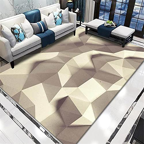 kids rugs for bedrooms Living room carpet rice color triangles shadow abstract pattern with rumored anti-mites Beige rugs living room 200x300cm carpets 6ft 6.7''X9ft 10.1''