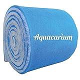 Aquacarium 12' (1ft) x 120' (10ft) Blue Bonded Aquarium Filter Pads