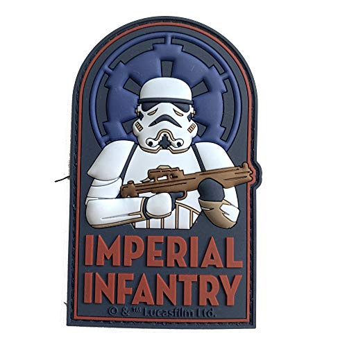Musterbrand Star Wars Patch Unisex Imperial Infantry Mehrfarbig ONE