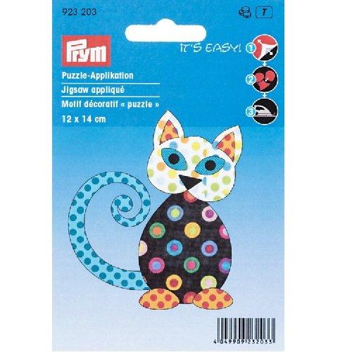 Prym Kat, strijkijzer, Polyester, meerkleurig, 14 x 9,3 x 0,2 cm