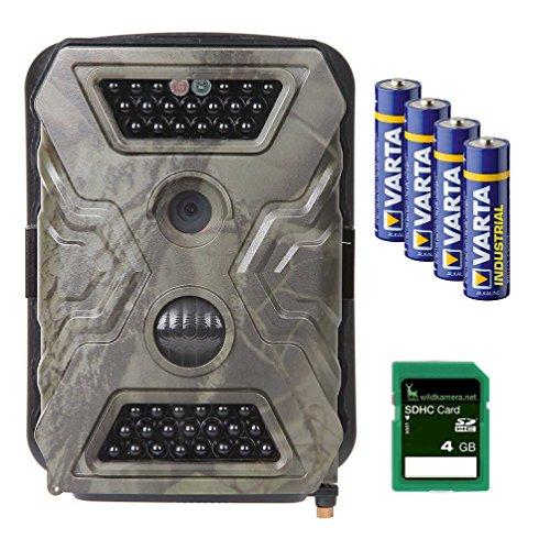 Wild-Vision Full HD 5.0 Wildkamera, Premium-Pack