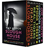 Slough House Thriller Series Books 1 - 6 Collection Box Set by Mick Herron (Slow Horses, Dead Lions, Real Tigers, Spook Street, London Rules & Joe Country)