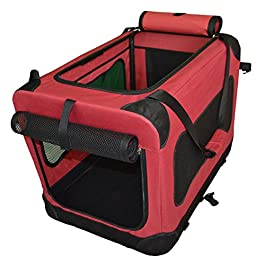 PULSE New 2019 Pet Carrier Bag Crate, Fabric Portable Easy Foldable, with Fleece Mat