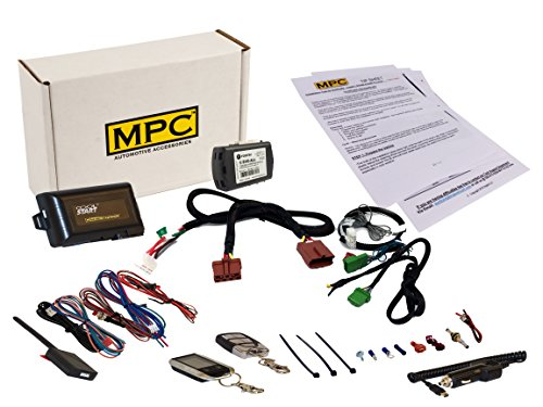 MPC Complete 2-Way LCD Remote Start Keyless Entry Kit for 2007-2011 Honda CR-V - Plug-n-Play - Firmware Preloaded