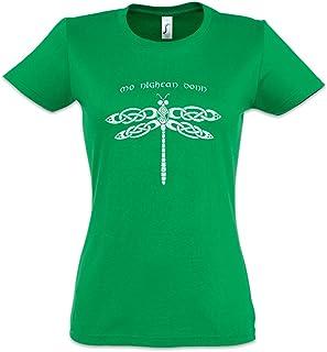 Urban Backwoods Mo Nighean Donn Camiseta de Mujer Women T-Shirt