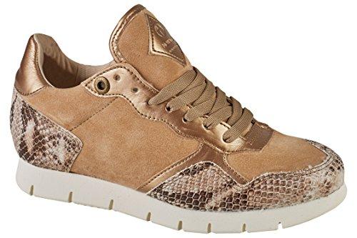 nobrand Equinox Damen Sneaker beige Snake (39)