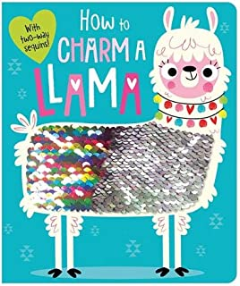 How to Charm a Llama (two-way sequin board book)