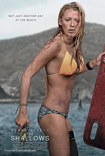 The Shallows Movie Poster Limited Print Photo Blake Lively Size 24x36#1