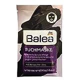 Balea Tuch-Maske mit Aktivkohle-Vlies, 1 St (1er Pack)