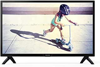 Philips 32 Inch HD LED Standard TV - 32PHT4002, Black