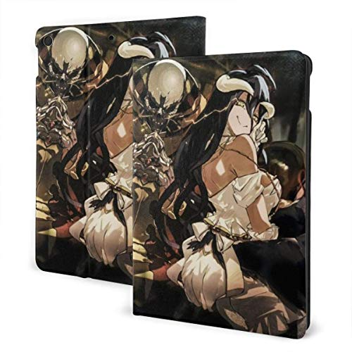 Case For iPad iPad Case Ipad cover Overlord Anime Smart Stand Back Cover Anti-Scratch Auto Wake/Sleep Protective Case